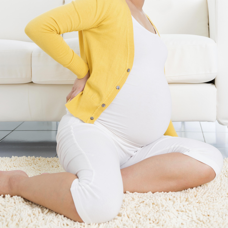 zwanger en rugpijn